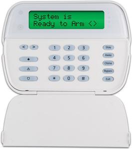 Burglar Alarm And Fire Alarm Keypads